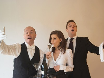 Opera Singing Waiters For Hire