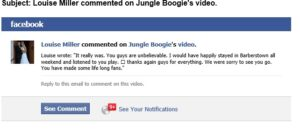 Louise Miller - Jungle Boogie test FB