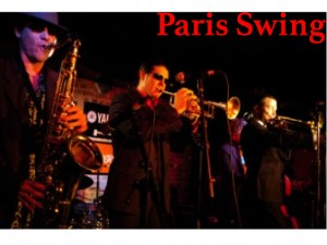 French Swing Band for hire with Audionetworks