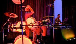 drummer and dj combo for hire corporate events