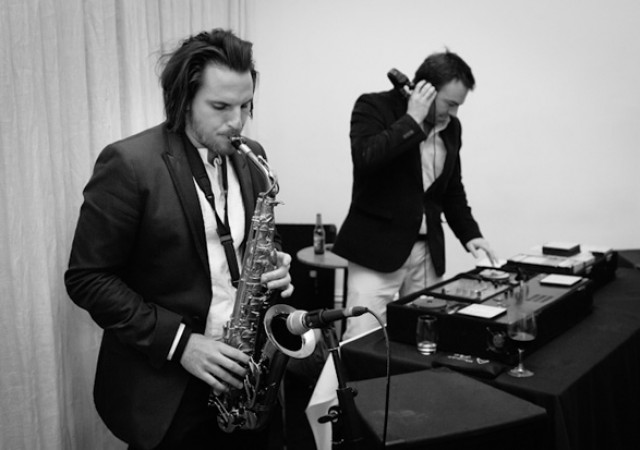 sax player and dj for hire